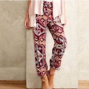 Lilka Tribal Print Joggers by Anthropologie
